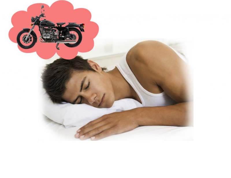 Nằm mơ thấy mất xe máy